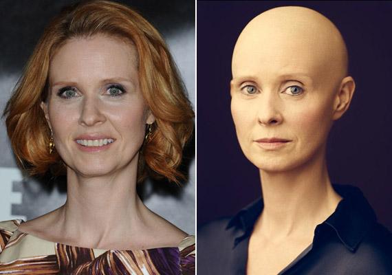 Cynthia Nixon bizonyára hitelesen alakítja majd a beteg professzort.