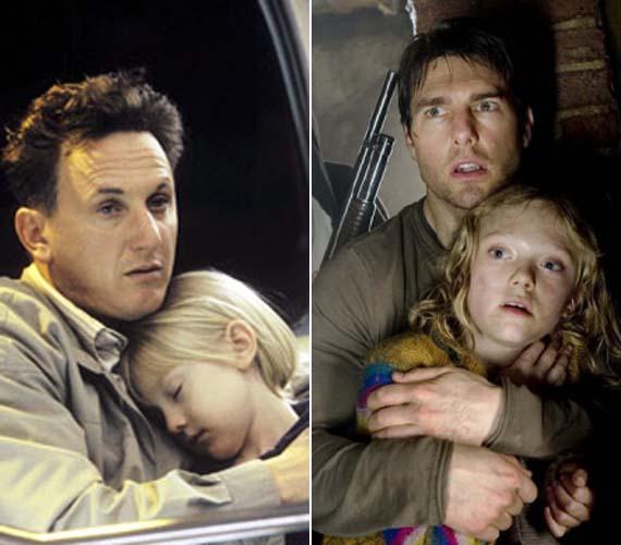 Dakota Fanning hétévesen, Sean Penn oldalán, a Nevem, Sam című filmmel vált ismertté. Néhány évvel később Tom Cruise bájos kislányát alakította a Világok harcában.