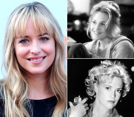 Édesanyja, Melanie Griffith igazi szépség volt, mielőtt túlzásba vitte a plasztikai beavatkozásokat.