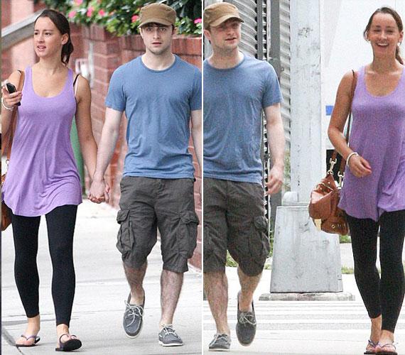 Néhány nappal ezelőtt vállalták fel a nyilvánosság előtt szerelmüket, amikor New Yorkban kézen fogva sétáltak az utcán.