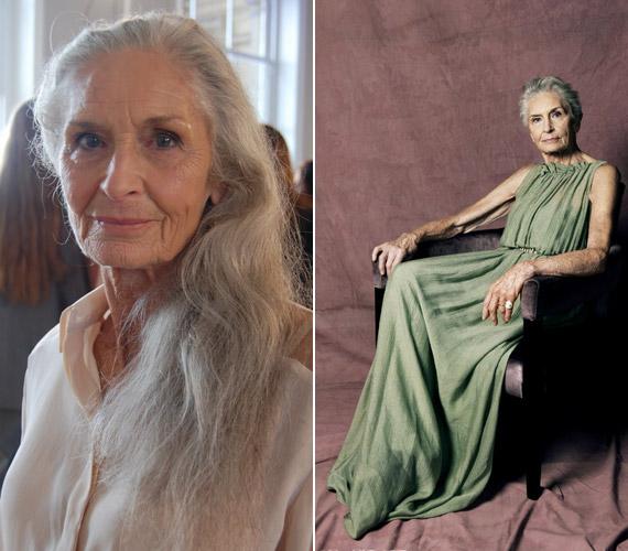 Daphne Selfe 83 évesen a világ legidősebb szupermodellje.