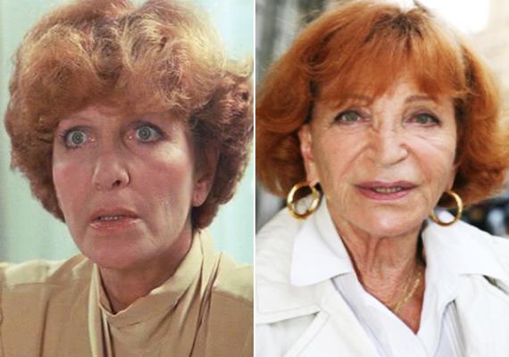 A 91 éves színésznő, Maria Pacôme játszotta a kitartó igazgatónőt. A francia dívának egyetlen fia született, François, aki komikusként keresi a kenyerét. Férjétől, Maurice Ronet-tól alig hat év házasság után vált el. Utoljára 2012-ben szerepelt a nyilvánosság előtt.