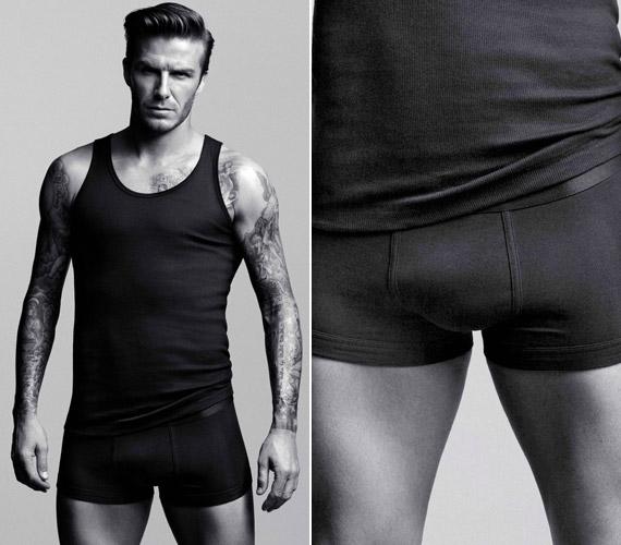 Úgy tűnik, David Beckhamet nem slankítja a fekete, sőt!