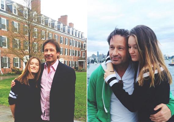 Apa és lánya nagyon odavannak egymásért, Madeleine Instagram-oldalán több összebújós, közös fotót is találni róluk.