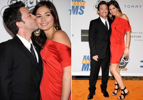 A színész 2004-ben vette el Andrea Elmert, de három év után elváltak. Faustino ezek után a fotón is látható Christiana Leucasszal kezdett randizni.