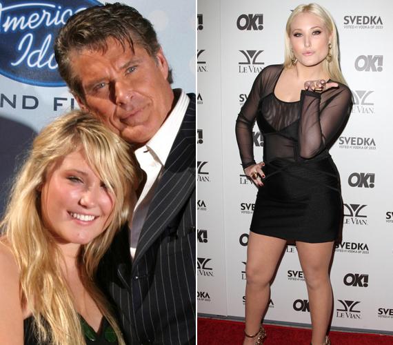 A fiatal lány apja példáját szem előtt tartva kacérkodik a színészettel is.