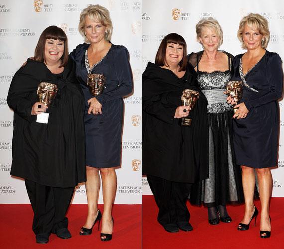 2009-ben a French és Saunders című műsorért kolléganőjével, Jennifer Saunders-szel együtt BAFTA Fellowship Award nevű díját vehette át.