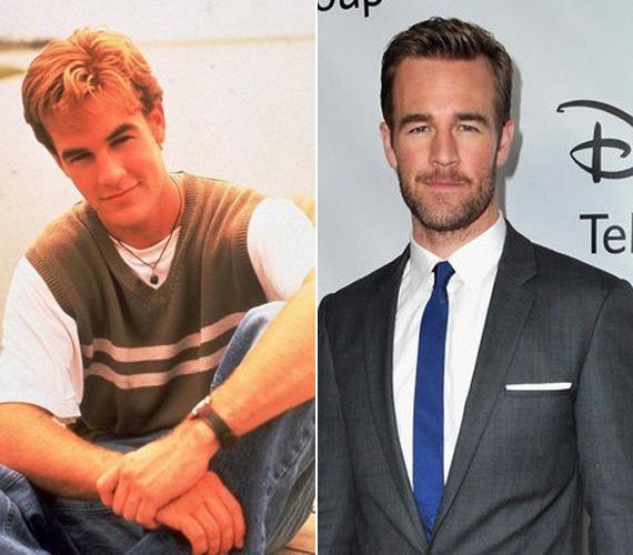 A színész 21 évesen, a Dawson és a haverokkal robbant be a köztudatba.