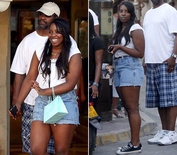 A 23 éves lány 2008-ban még a jelenleginél is testesebb volt. Ebben az időben apja is kissé eleresztette magát.