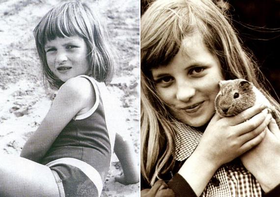 Még csak hatéves volt, de már így sugárzott a szeretet Diana szemeiből. Nem csoda, hogy az emberek máig rajonganak érte.