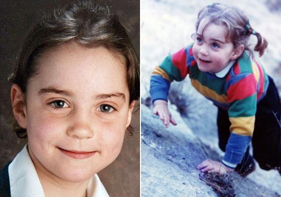 Katalin hercegnéről az édesanyja, Carole Middleton osztott meg néhány aranyos gyerekkori képet 2011-ben. Látszik, hogy Kate már kislányként is sportőrült volt.