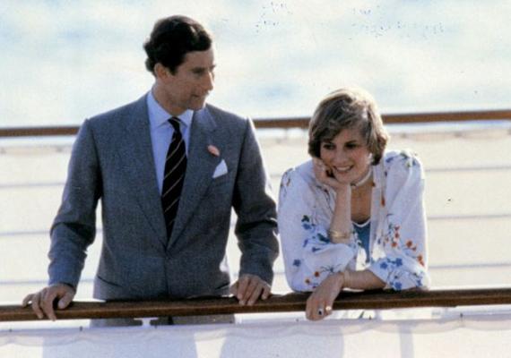 Diana hercegnő álmodozva tekint le a királyi jacht fedélzetéről. Itt még nem gondolta, hogy boldogsága nem lesz hosszú életű.