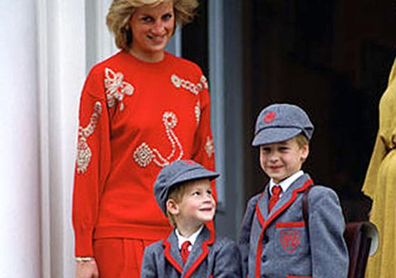 1989, Harry első napja a suliban. Az ötéves herceg majd' kicsattant a boldogságtól, hogy követheti bátyját, a hétéves Vilmost a Wetherby School iskola-előkészítőbe.