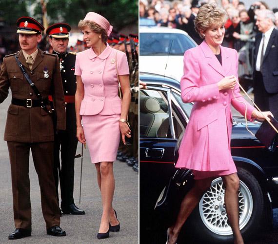 Szerette aJackie Kennedy ihlette kosztümöket is.