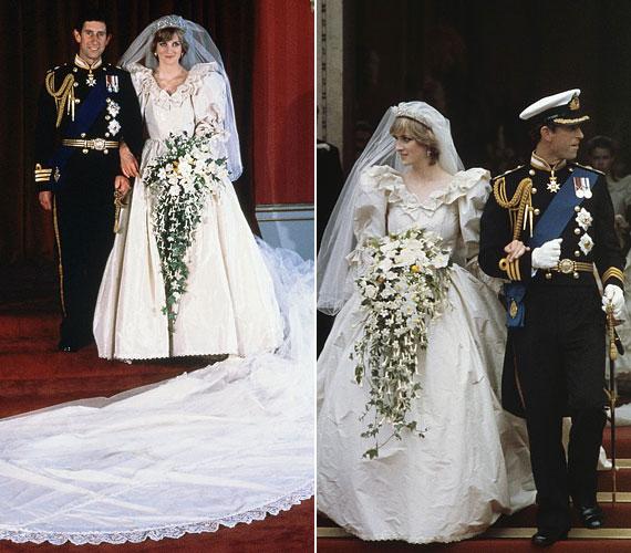 Károly 1981. július 29-én a Szent Pál-katedrálisban oltár elé vezette választottját. A királyi esküvőt világszerte hatalmas érdeklődés övezte, a tévétársaságok élőben közvetítették az eseményt, melyre a becslések szerint mintegy egymilliárd néző volt kíváncsi.