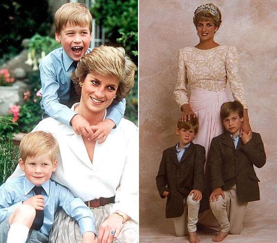 A hercegnő fiait teljes odaadással és nagy szeretetben nevelte. A családi idill azonban nem tartott sokáig: bár az udvar eleinte próbálta titkolni, a nyolcvanas évekre a hercegi pár házassága megromlott, válásukat 1996-ban mondták ki.