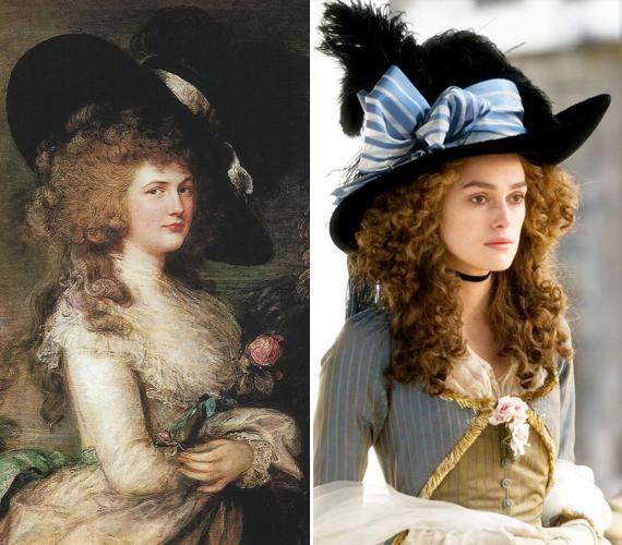 Georgiana Spencer 1757-ben született Althorpban. Ő volt Devonshire ötödik hercegének felesége. Szépsége és intelligenciája folytán hatalmas népszerűségnek örvendett, amit férje sokszor nehezen viselt. Georgiana volt a világon az egyik első nő, aki politizált. Életét 2008-ban filmesítették meg, őt Keira Knightley játszotta. Ő Diana hercegnő ük-ük-ük-üknagynénje.