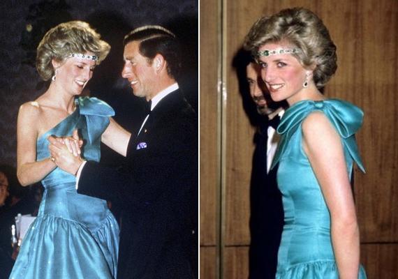 Súlyos szabályszegést követett el, amikor az anyakirálynő nyakláncát a fejére húzta hajpántként. Erzsébet királynő valószínűleg tombolt dühében.