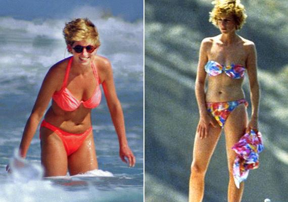 """Bikinit sem szabadott volna hordania, azonban Diana túlzásnak találta a szabályt. """"A strandon, a nyári melegben a bikini is túlságosan sok ruha az ember testén"""" - nyilatkozta egy régi interjúban."""