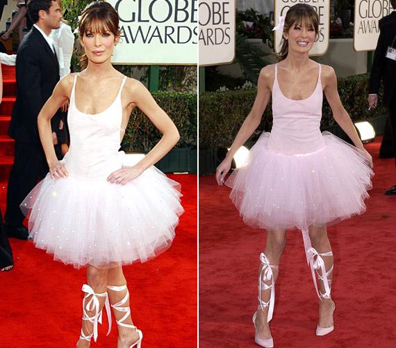 A leginkább plasztikai műtéteiről elhíresültLara Flynn Boyle 2003-ban öltözött balerinának.