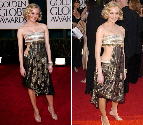 2005-ben ebben aMarchesa darabban jelent meg. Az esemény után még a színésznő is elismerte aStylist magazinnak, hogy a ruha csúnya volt, és nagyon bánta, hogy ezt vette fel.