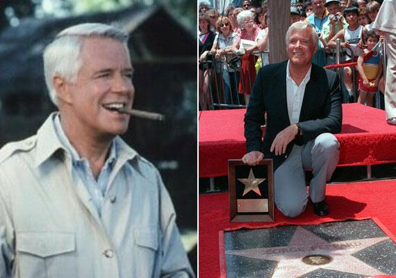 John 'Hannibal' Smith ezredes megformálója, George Peppard lett a szökésben lévő csapat vezetője. A karaktert megformáló színész a valóságban tizedes, majd tengerészgyalogos volt, '45-ben sorozta be az amerikai hadsereg. Színészi teljesítményét csillaggal jutalmazták Hollywoodban. 1994-ben tüdőgyulladásban vesztette életét, 65 évesen.