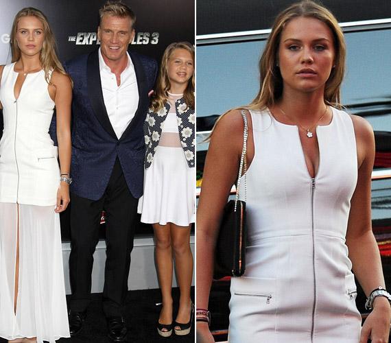 Az 56 éves színész végtelenül büszke lányaira, akiket ettől függetlenül nem szokott folyton mutogatni.