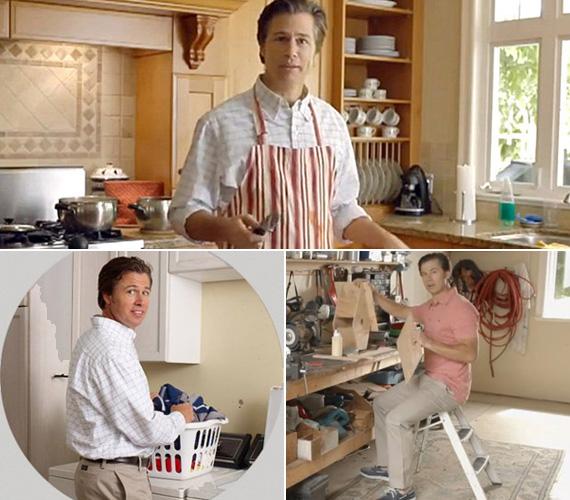Az ifjabbik Pitt minden nő álma lehet: főz, mos, és szabadidejében még madárházat is barkácsol.