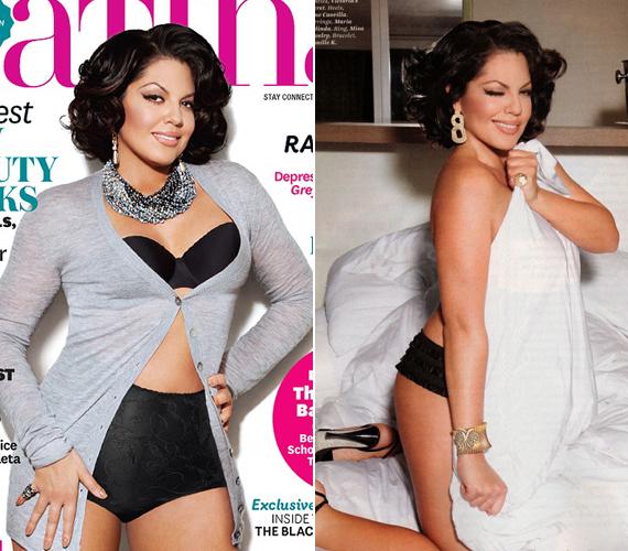 A Grace klinika 39 éves sztárja, a dr. Callie Torrest alakító Sara Ramirez szintén nem tartozik a legvékonyabb színésznők közé, de ő ezt egy cseppet sem bánja. Még egy magazinban is megmutatta formás alakját.