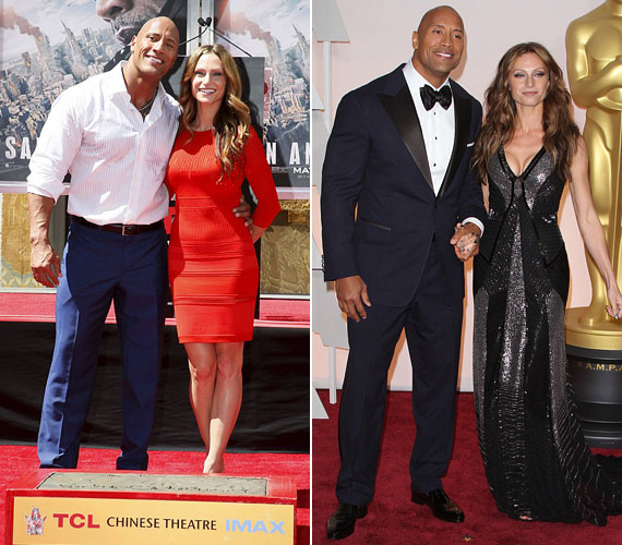 A 43 éves Dwayne Johnson és a 30 éves Lauren Hashian nyolc évvel ezelőtt, 2007-ben jöttek össze Bostonban, a Gyerekjáték című vígjáték forgatásán. Bár a színész akkor még Dany Garcia férje volt, még abban az évben elvált, feltehetően az új szerelem miatt. Azért a hírek szerint továbbra is jóban vannak, lányukat is közösen nevelik.