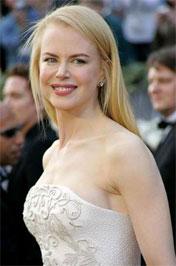 Nicole Kidman ragyogóan