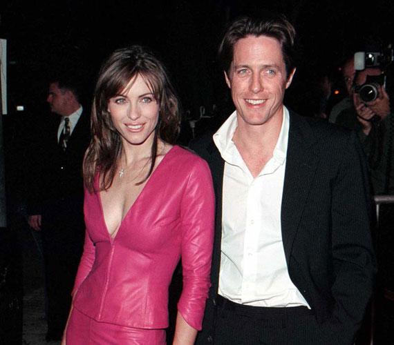 Elizabeth Hurley 13 évig volt Hugh Grant kedvese, a sztárpár 2000 májusában szakított.
