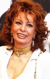 Sophia Loren pár éve