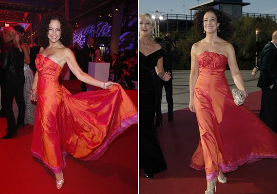 2013-ban szinte tündöklött a német Fernsehpreis-gálán, minden szem rászegeződött, amikor a vörös szőnyegre lépett.