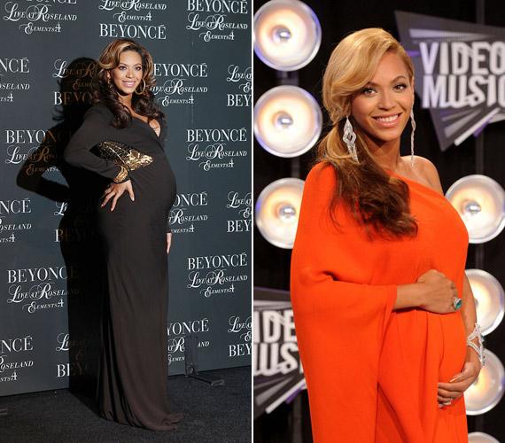 A gyönyörű kismama, Beyoncé és a rapper Jay-Z közös gyermeke, Blue Ivy idén januárban érkezett.