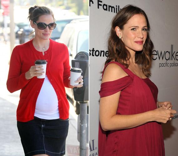 Jennifer Garnert megszépítette a várandósság. Ben Affleckkel közösen három gyermekük, két lányuk és egy fiuk van.