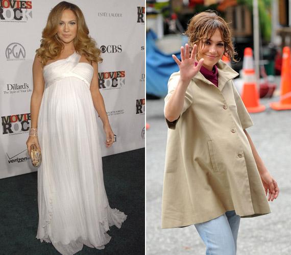 Jennifer Lopez Marc Anthony feleségeként 2008-ban adott életet ikreinek, Maximilian David Munoznak és Emme Maribelnek. Terhessége és pluszkilói azonban mit sem vettek el az énekes-színésznő szépségéből.
