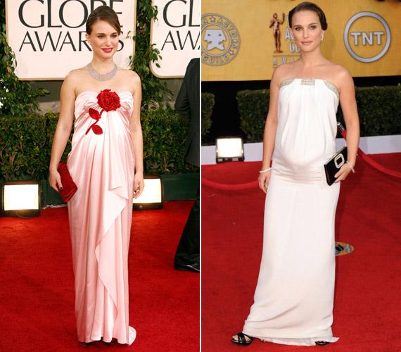 Natalie Portman csak úgy ragyogott a várandóssága alatt. Kisfia, Aleph lassan egyéves lesz.