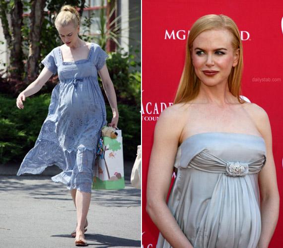 Nicole Kidman Keith Urban feleségeként 2010-ben már második lányának adott életet. Terhessége alatt az egyébként is gyönyörű színésznő még jobban kivirult.