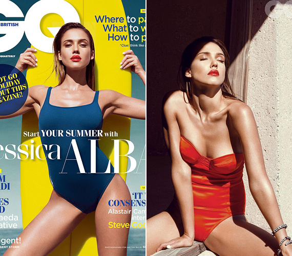 Jessica Alba a GQ 2014. augusztusi számában mutatta meg nőies alakját. A kétgyermekes színésznő elmondása szerint a lábával nem elégedett, de a hasával igen, így azt szívesebben teszi közszemlére.