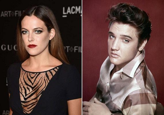 Habár Riley leginkább édesanyjára, Liza Marie Presley-re és nagyanyjára, Priscillára hasonlít, Elvis vonásai is felfedezhetőek az arcán.
