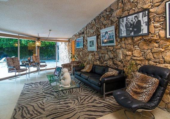 Elvis Presley és felesége Las Vegas-i esküvőjük után azonnal ebbe a házba mentek.