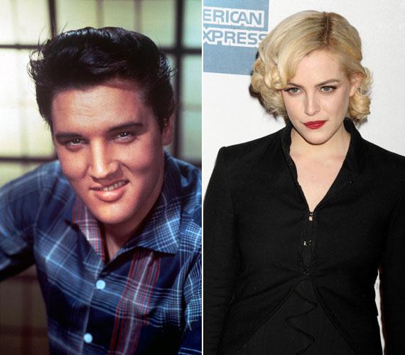 Elvis Presley szépséges unokája egy-két vonásában megidézi legendás nagyapját, de szépségét a nagymamától örökölte.