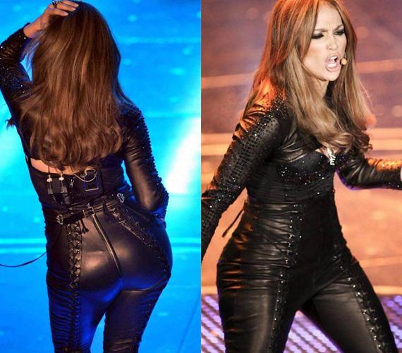 Jennifer Lopeznek nem ez volt a legszerencsésebb ruhaválasztása.