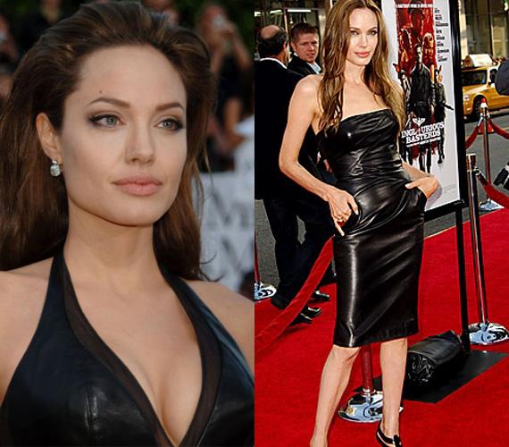 Angelina Jolie itt még nem a hatgyerekes anya képét szerette volna erősíteni.