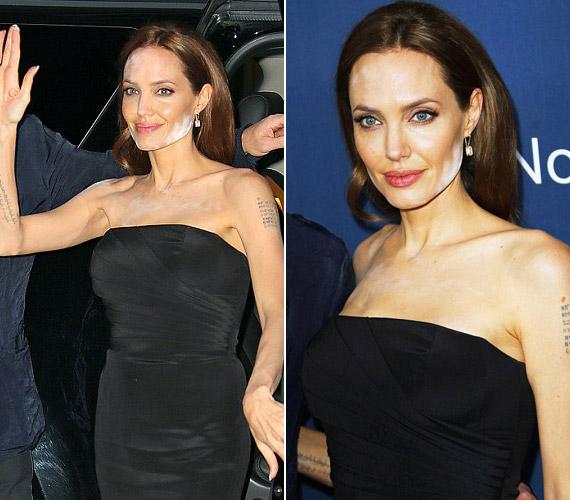 Angelina Jolie-ról Cannes-ban készültek a fotók.