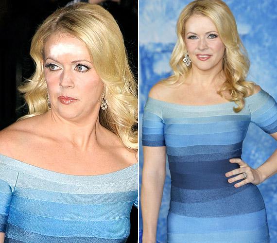 Melissa Joan Hart a Frozen premierjén került kínos helyzetbe.