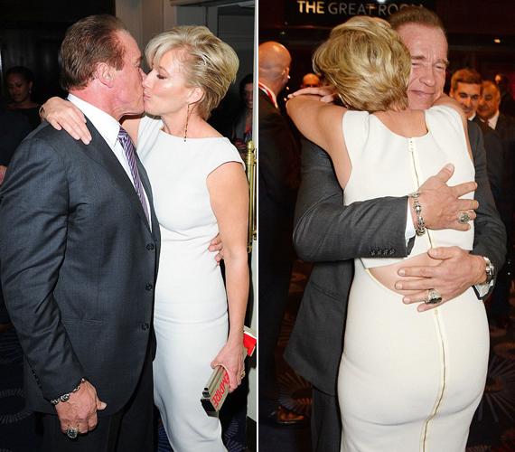 1994-ben, a Junior forgatásán barátkoztak össze Arnold Schwarzeneggerrel.