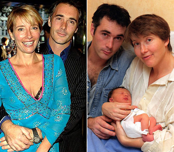 Emma Thompson és Greg Wise az Értelem és érzelem forgatása során ismerkedtek meg egymással. 1999 decemberében született meg lányuk, Gaia Romilly, de csak 2003-ban házasodtak össze.
