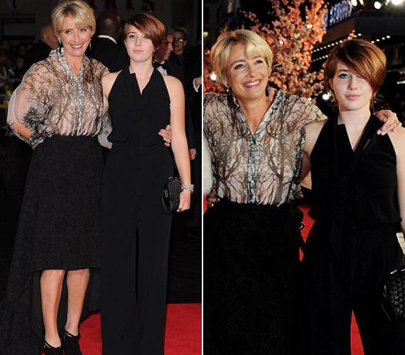 Emma Thompson elmondta, rettentően büszke a lányára és szívesen jelenik meg vele nagyobb eseményeken.